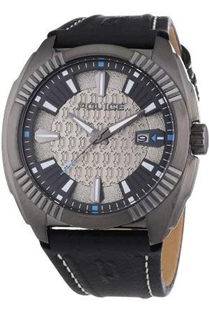 Police P13596JSU-61 - Reloj analógico de Cuarzo para Hombre con Correa de Piel