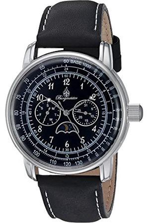 Burgmeister Reloj de Cuarzo de Hombre con Esfera analógica de Color y Piel de Color Pulsera bm335 – 122