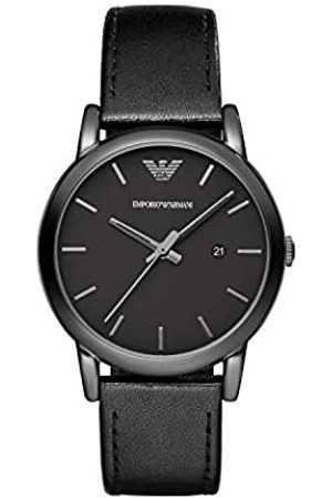Emporio Armani AR1732 - Reloj (Reloj de Pulsera, Masculino, Acero Inoxidable, , Cuero