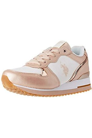 U.S. Polo Assn. US Polo Association Tuzla2, Zapatillas de Gimnasia para Mujer, (Off/Copp 068)