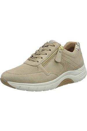 Gabor Shoes Rollingsoft, Zapatillas para Mujer, (Desert/ 34)