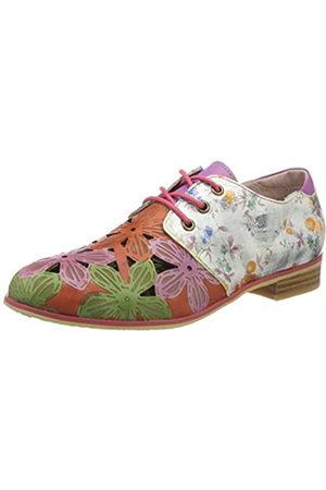 LAURA VITA Facsteo 22, Zapatos de Cordones Derby para Mujer, (Violet Violet)