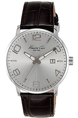 Kenneth Cole Reloj analogico para Hombre de Cuarzo con Correa en Piel IKC8006
