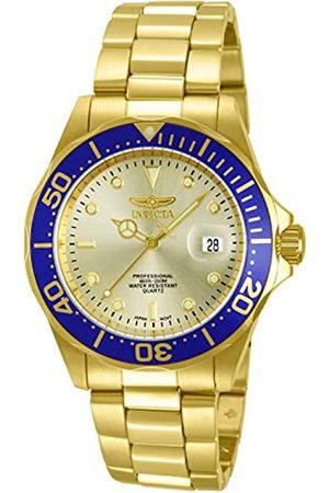 Invicta 14124 Pro Diver Reloj Unisex inoxidable Cuarzo Esfera oro