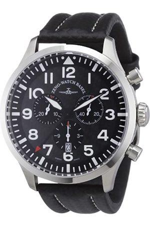 Zeno 6569-5030Q-s1 - Reloj analógico de Cuarzo para Hombre con Correa de Piel