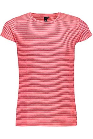 C.P.M. T-Shirt In Cotone con Fantasia A Righe Camiseta, Niñas