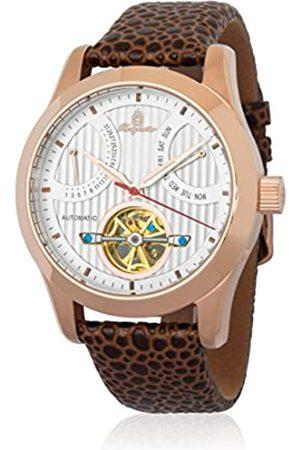 Burgmeister Reloj Hombre de Analogico con Correa en Cuero BM224-385