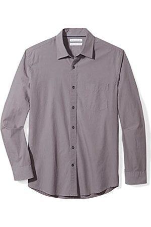Amazon Long-Sleeve Solid Poplin Shirt Camisa