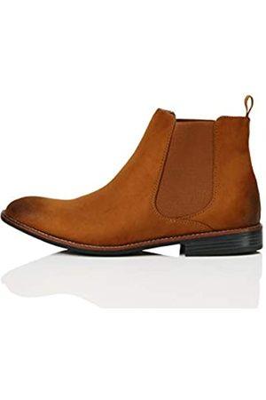 FIND Marca Amazon - FIND Boots Botas Chelsea, (Tan)