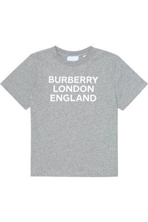 Burberry Camiseta de punto fino de algodón