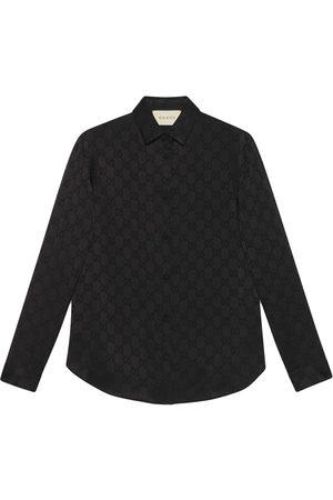 Gucci Camisa con estampado GG