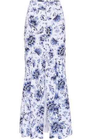 ALEXANDRA MIRO Exclusivo en Mytheresa – falda Delliah de algodón estampada