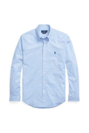 Polo Ralph Lauren Camisa de popelina de cuadros Slim-Fit.