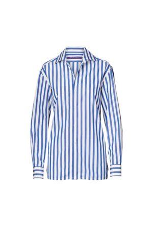 Ralph Lauren Camisa de algodón a rayas