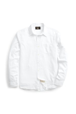 RRL Camisa de trabajo de sarga