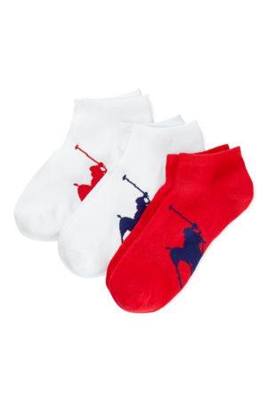 Polo Ralph Lauren Paquete de 3 pares de calcetines con caballo grande