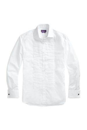 Ralph Lauren Camisa de esmoquin en popelina