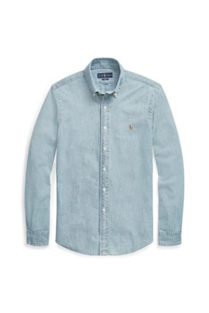 Polo Ralph Lauren Camisa de cambray Slim Fit