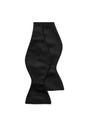 Ralph Lauren Pajarita de satén de seda
