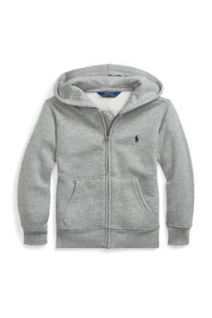 Ralph Lauren Sudadera con capucha de mezcla algodón y felpa