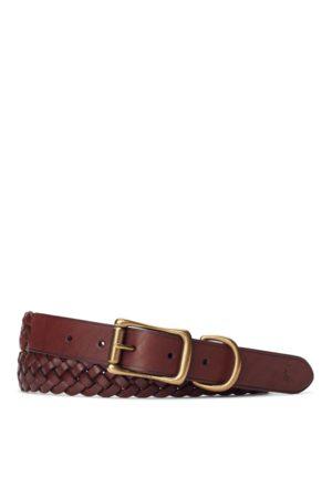 Polo Ralph Lauren Cinturón de piel trenzado