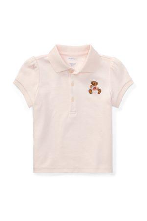 Ralph Lauren Camisa Polo de algodón con Osito Polo