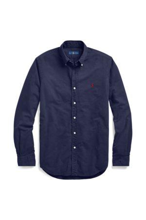 Polo Ralph Lauren Camisa Oxford Slim Fit teñida en prenda