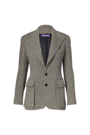Ralph Lauren Mujer Abrigos largos - La chaqueta de tweed