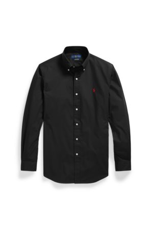Polo Ralph Lauren Hombre Casual - Camisa de popelina Custom Fit