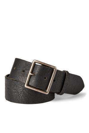 RRL Hombre Cinturones - Cinturón de cuero desgastado