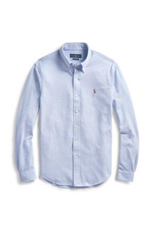 Polo Ralph Lauren Hombre Casual - Camisa Oxford de punto