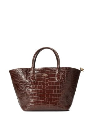 Polo Ralph Lauren Mujer Bolsos shopper y tote - Bolso tote Bellport de tamaño mediano con repujado