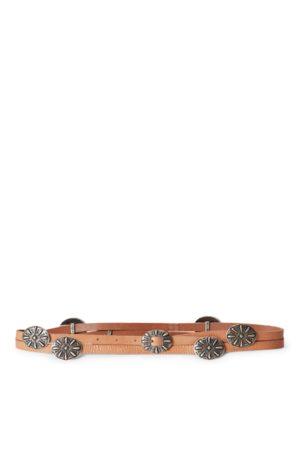 Polo Ralph Lauren Mujer Cinturones - Cinturón cruzado de piel y concho