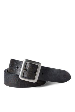 RRL Hombre Cinturones - Cinturón de piel pulida a mano