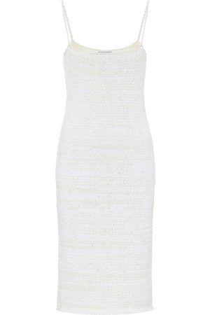 Bottega Veneta Vestido de punto en mezcla de algodón
