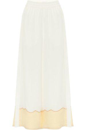 Chloé Culottes de crepé de seda