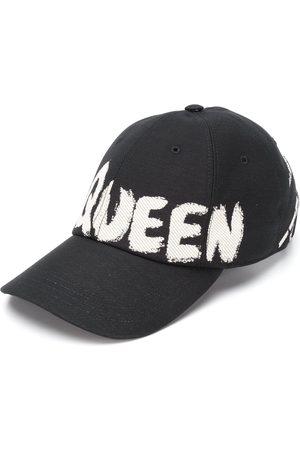 Alexander McQueen Hombre Gorras - Gorra de béisbol con logo