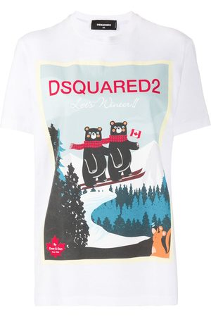 Dsquared2 Camiseta con estampado alpino