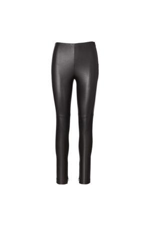 Ralph Lauren Collection Pantalón de piel elástica Eleanora