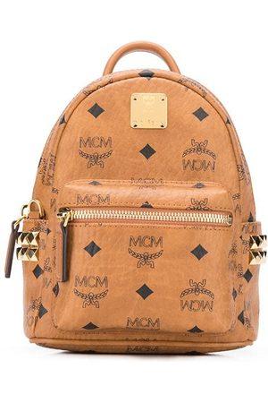 MCM Repeat logo backpack