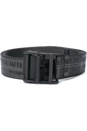 OFF-WHITE CLASSIC INDUSTRIAL BELT BLACK BLACK