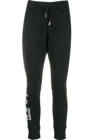 Dsquared2 Pantalones de chándal con logo estampado