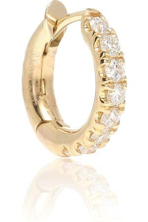 SPINELLI KILCOLLIN Arete Mini Micro Hoop Pavé de oro de 18 ct y diamante