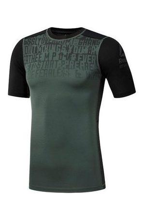 Reebok Camiseta Activchill Graphic Compression para hombre