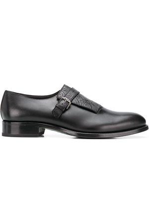 Etro Zapatos monk con lengüeta con motivo