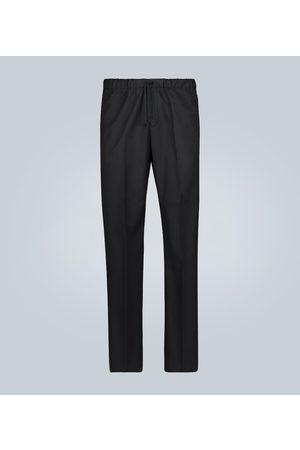 DRIES VAN NOTEN Pantalones rectos de algodón