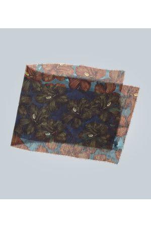 DRIES VAN NOTEN Pañuelo con estampado floral