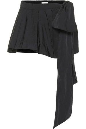 DRIES VAN NOTEN Minifalda en mezcla de seda