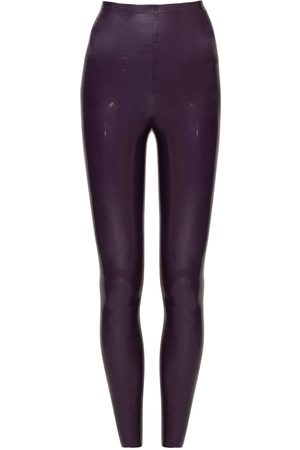Saint Laurent | Mujer Leggings Skinny Stretch Con Cintura Alta 34