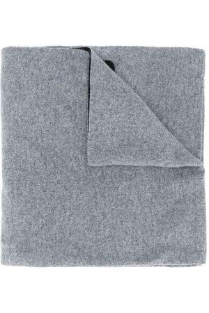 Moschino Bufanda de punto de intarsia con logo